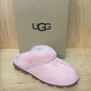 UGG W Coquette Slip-On Slippers US 7.0 NWB